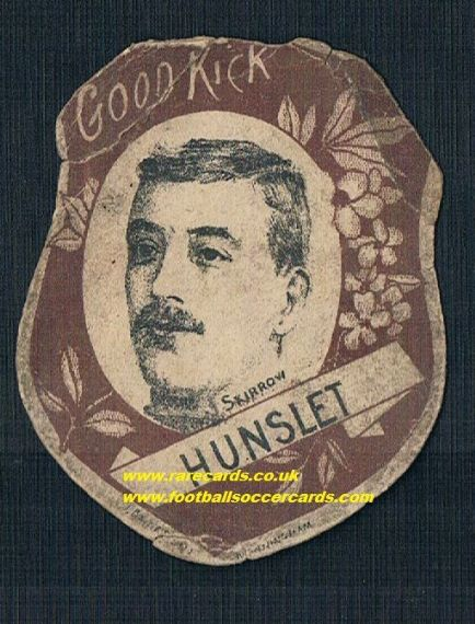 1890 Hunslet Skirrow baines card